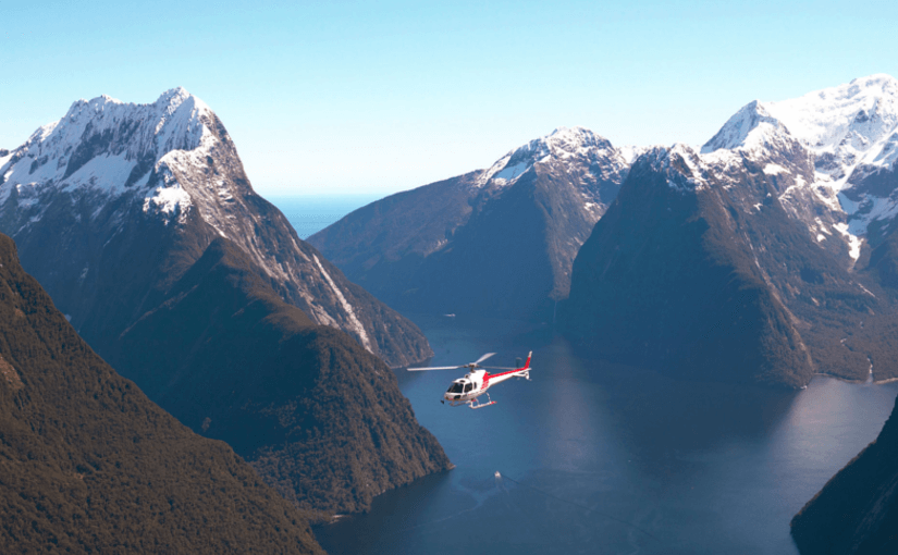 Milford Sound Scenic Flight